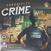 Chronicles of Crime Board Game  Factory Sealed