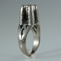 8991 Alte Tuareg Ring Silber Mali