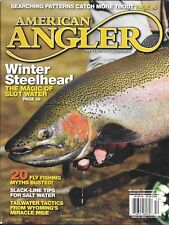 American Angler fishing magazine Winter steelhead Fly fishing myths Tailwater