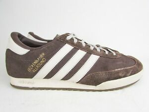 ADIDAS BECKENBAUER ALLROUND TRAINERS BROWN Size 7 / 41 Originals