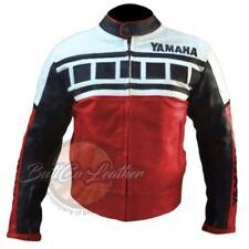 Giacche da uomo rossi con catarifrangente per motociclista