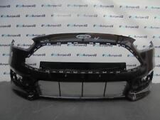 FORD FOCUS ST FACELIFT FRONT BUMPER 2015 ON WITH WASH JET HOLES GENUINE PART *OB