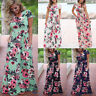 PLUS SIZE UK Womens Holiday Long Dresses Jumpsuit Ladies Summer Beach MAXI Dress
