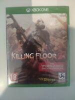 killing floor 2 xbox one neuf sous blister
