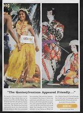 "QANTAS AIRWAYS AUSTRALIA ""THE QANTASYLVANIANS APPEARED FRIENDLY FIJI & JAPAN AD"