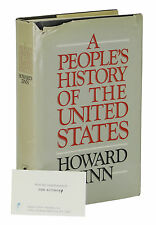 A People's History of the United States ~ HOWARD ZINN ~ First Edition 1st 1980