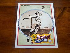 BOSTON RED SOX TED WILLIAMS 1991 UPPER DECK BASEBALL HEROES #28 OF 36