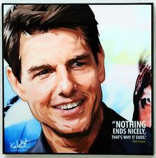 Tom Cruise canvas quotes wall decals photo painting framed pop art poster