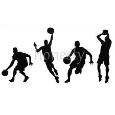 Basketball Player DIY Vinyl Decal Car Laptop Window Wall Bumper Sticker Door PC