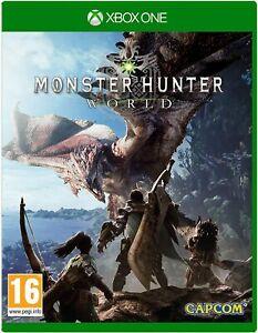 Monster Hunter World Xbox One New Sealed
