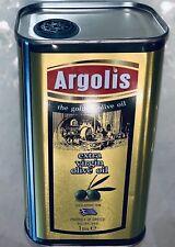 Natives Olivenöl ARGOLIS Extra Virgin 1 l ,kaltgepresst (Region 20 Km/Frei Haus)