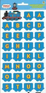 Sandylion Scrapbook Stickers Thomas & Friend the Tank Engine Alphabet