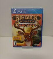 Big Buck Hunter Arcade (Sony PlayStation 4, 2016) NEW SEALED FAST SHIPPING ! PS4