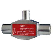 Antenna Splitter radio-verteiler with Transformer Coaxial 5-1000Mhz NEW Switch