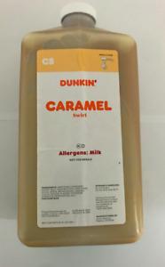 Dunkin Donuts Caramel Swirl 64 oz Jug  No pump