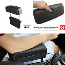 Adjustable Universal Black Armrest Support stuff Storage Seat Gap Filler for Car