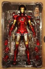 Open Box Hot Toys 1/6 The Avengers Iron Man Mark 7 MK VII MMS185