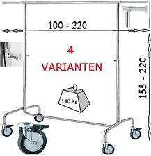 Kleiderständer Kleiderwagen Garderobe Kleiderstange Garderobenständer Metall NEU
