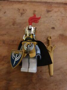 LEGO King Jayko Minifigure Castle Knights Kingdom II cas295 8823