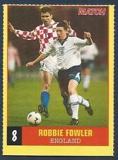 MATCH MAGAZINE-EURO MINI-FILES 1996- #08-LIVERPOOL & ENGLAND-ROBBIE FOWLER
