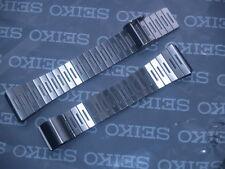 Seiko 17 mm Reloj de 2 piezas de acero inoxidable cepillado Strap Bracelet B1047