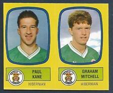 PANINI FOOTBALL 88-#536-A-B-HIBERNIAN-PAUL KANE / GRAHAM MITCHELL