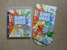 PLAYSTATION 3 PS3 GAME - BAND HERO (SOLUS) - COMPLETE - PAL UK
