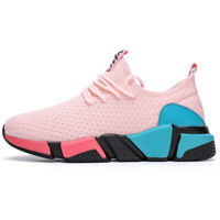 Women's Sneakers Sports Casual Walking Running Flat Shoes Athletic Breathable