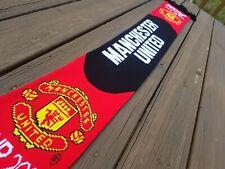 Manchester United FC Football Soccer Scarf Official Merchandise Man U