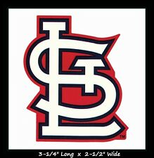 ST. LOUIS CARDINALS BASEBALL MLB DECAL STICKER TEAM LOGO~BUY 1 GET 1 30% OFF