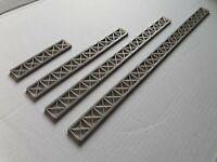 Model Railway Lattice Bridge Trussing 1.76 OO Gauge - 3mm thick Various Lengths