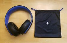 Sony Playstation Gold Wireless Stereo Headset HEADSET ONLY