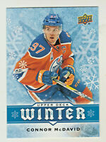 2017-18 Upper Deck WINTER #W5 CONNOR McDAVID Edmonton Oilers QTY AVAILABLE