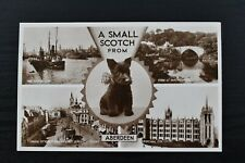 More details for postcard multi-view aberdeen scotland unposted valentines real photo rp