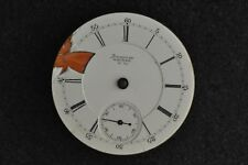 """VINTAGE 18 SIZE """"A.T. & CO"""" AM. WALTHAM O.F. POCKET WATCH MOVEMENT - RUNNING"""