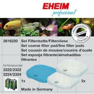 Eheim Filter Pad Set For Experience 150/250 *GENUINE EHEIM MEDIA*