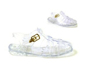 BABY KIDS INFANTS GIRLS RETRO STYLE JELLY SUMMER HOLIDAY SANDALS SHOES SIZE