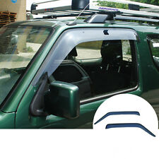 Window Visor Vent Shades Sun Rain Guard 2pcs For Suzuki Jimny 2007-2015