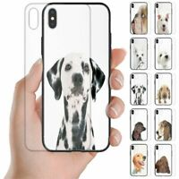 For OPPO Series - Dog Theme Print Tempered Glass Back Case Mobile Phone Cover
