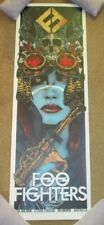 FOO FIGHTERS concert gig poster print MELBOURNE 1-30-18 2018 print rhys cooper