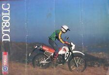 Yamaha DT 80 LC Prospekt 1983 brochure Motorrad Motorradprospekt Japan Asien