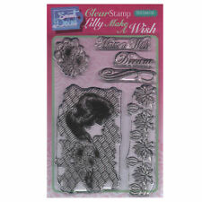 New listing Sweet Dixie A6 Clear Stamp Set - Sdcsa6130 Lily Make A Wish