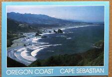 Cape Sebastian On The Beautiful Oregon Coast CT-4018 Postcard
