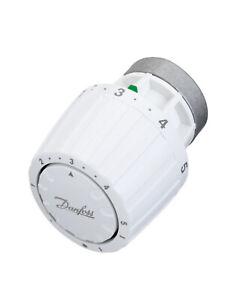 Danfoss Thermostatkopf RA/VL 013G2950 für RAVL Gehäuse 26 mm, weiss, mit Fühler