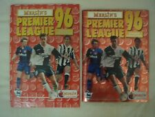 Merlin 1996 England Premier League Sticker Album 100% Complete + Binder