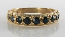 Sapphire Yellow Gold Victorian (1837 - 1901) Fine Rings