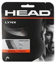 Corde Tennis HEAD Lynx 1.20 n.2 matassine 12m monofilamento nero