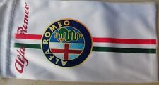 Alfa Romeo logo and italian flag glasses glass case pouch bag * NEW