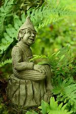 Stone Garden Ornament Gargoyle Elf (Brian)