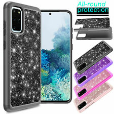 For Samsung Galaxy S20 Plus/Ultra Slim Armor Defend Shockproof Bling Case Cover